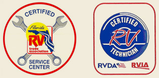 Certified RV Service Center