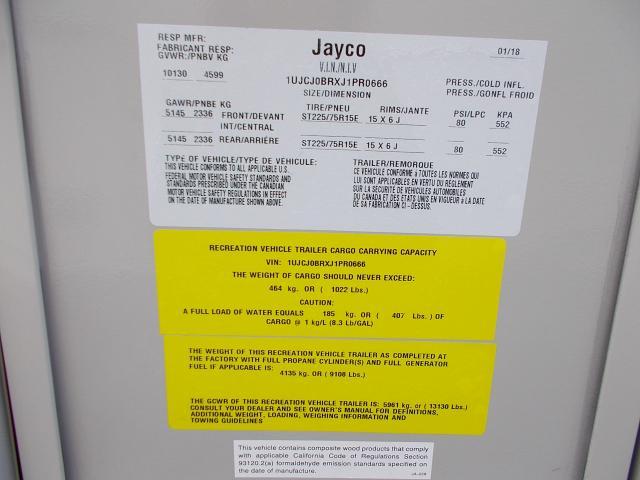 2018 Jayco Eagle 28.5RSTS