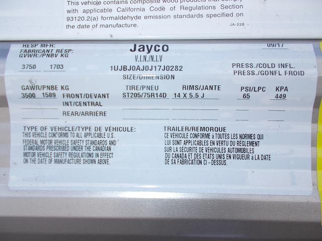 2018 Jayco Jay Flight 174BH