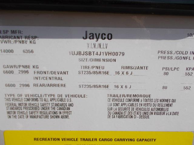 2018 Jayco Octane T32H