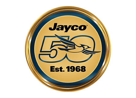 jayco 50 year celebration logo