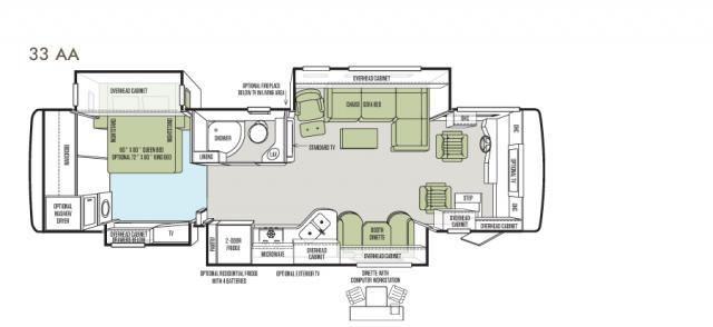 Allegro RED 33 AA floor plan image